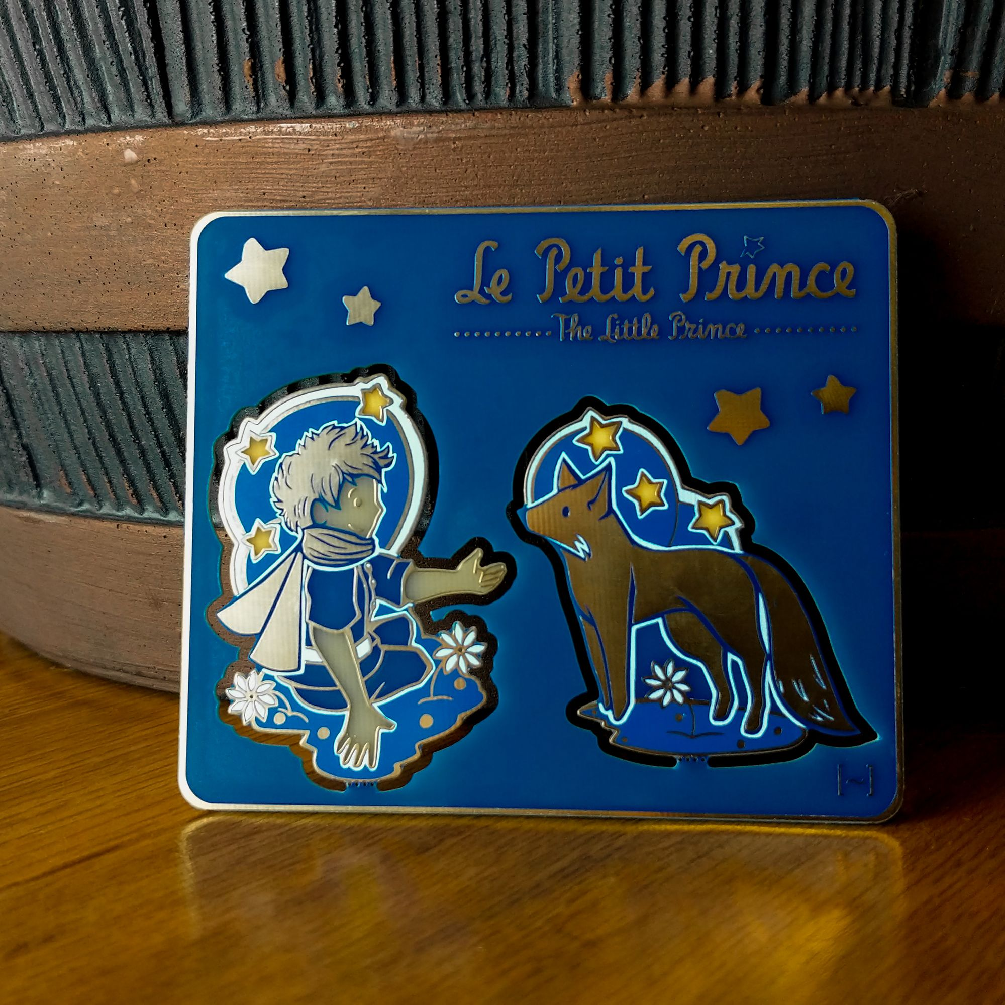 6 Little prince baby shower pins little prince corsage-royal